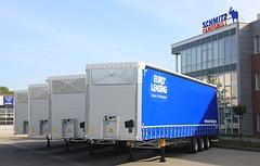 EURO-Leasing setzt auf neue Megatrailer von Schmitz Cargobull